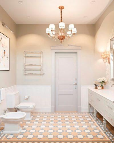 Ванная комната частного дома