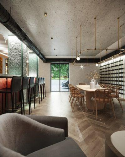 Дегустационный зал винодельни