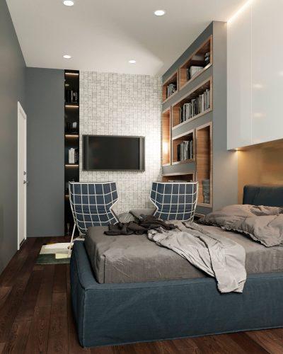 Современная детская спальня для мальчика