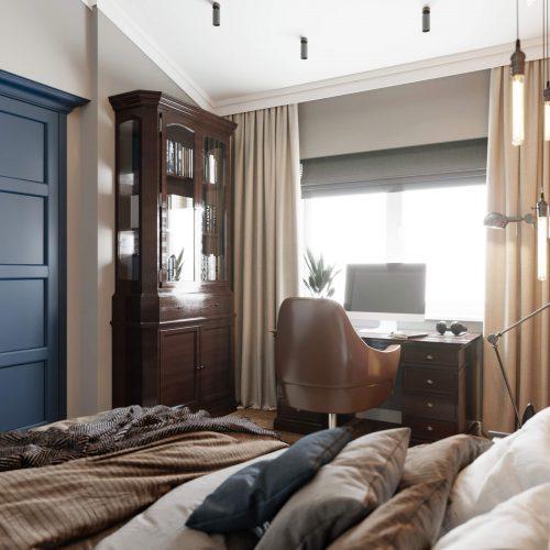 Брутальная детская спальня для мальчика