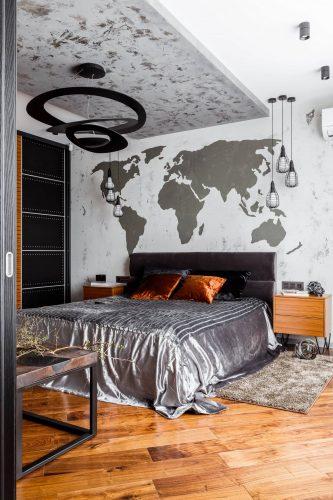 Брутальная спальня