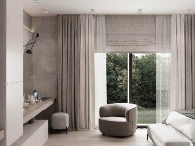 Дизайн интерьера гостиницы в Краснодаре - пример 2