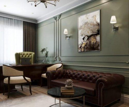 Дизайн интерьера дома в Краснодаре 1