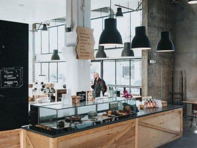 Дизайн интерьера кафе под ключ