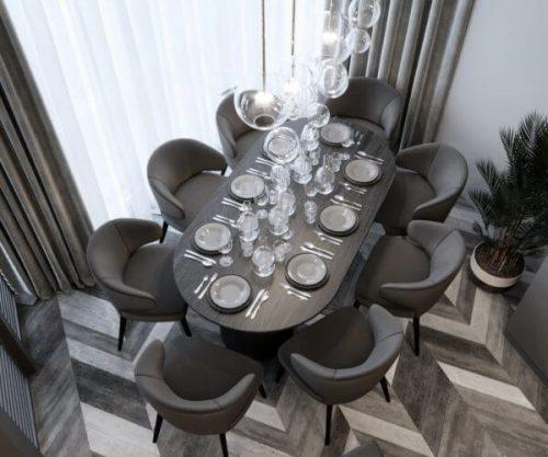Дизайн интерьера квартиры в Краснодаре