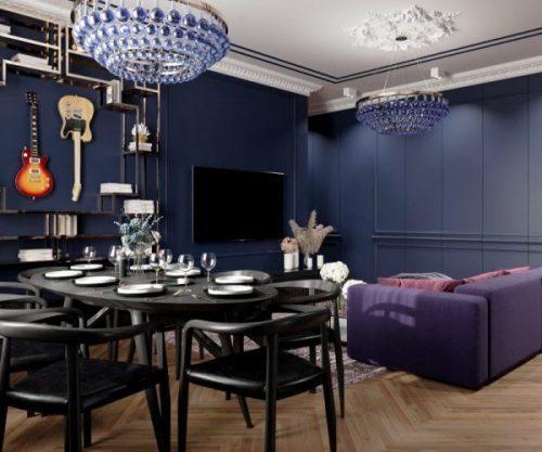 Дизайн интерьера квартиры - пример 1