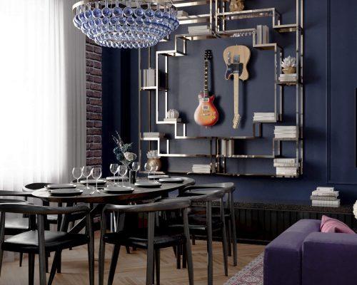 Дизайн двухкомнатной квартиры заказать