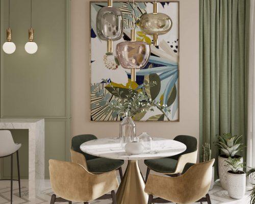 Дизайн проект интерьера двухкомнатной квартиры