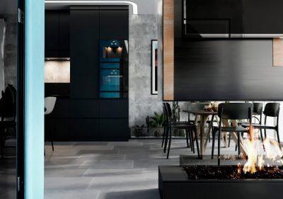 Дизайн интерьера трехкомнатной квартиры в Краснодаре