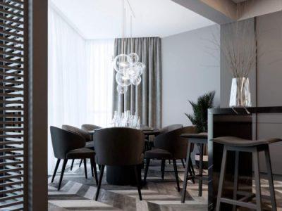 Дизайн-проект 3 комнатной квартиры
